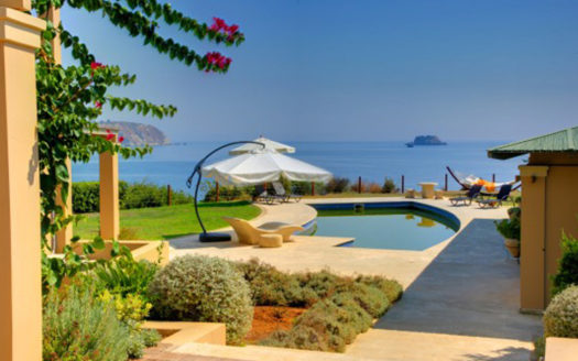 Luxury villa over Ai Chelis beach Kefalonia
