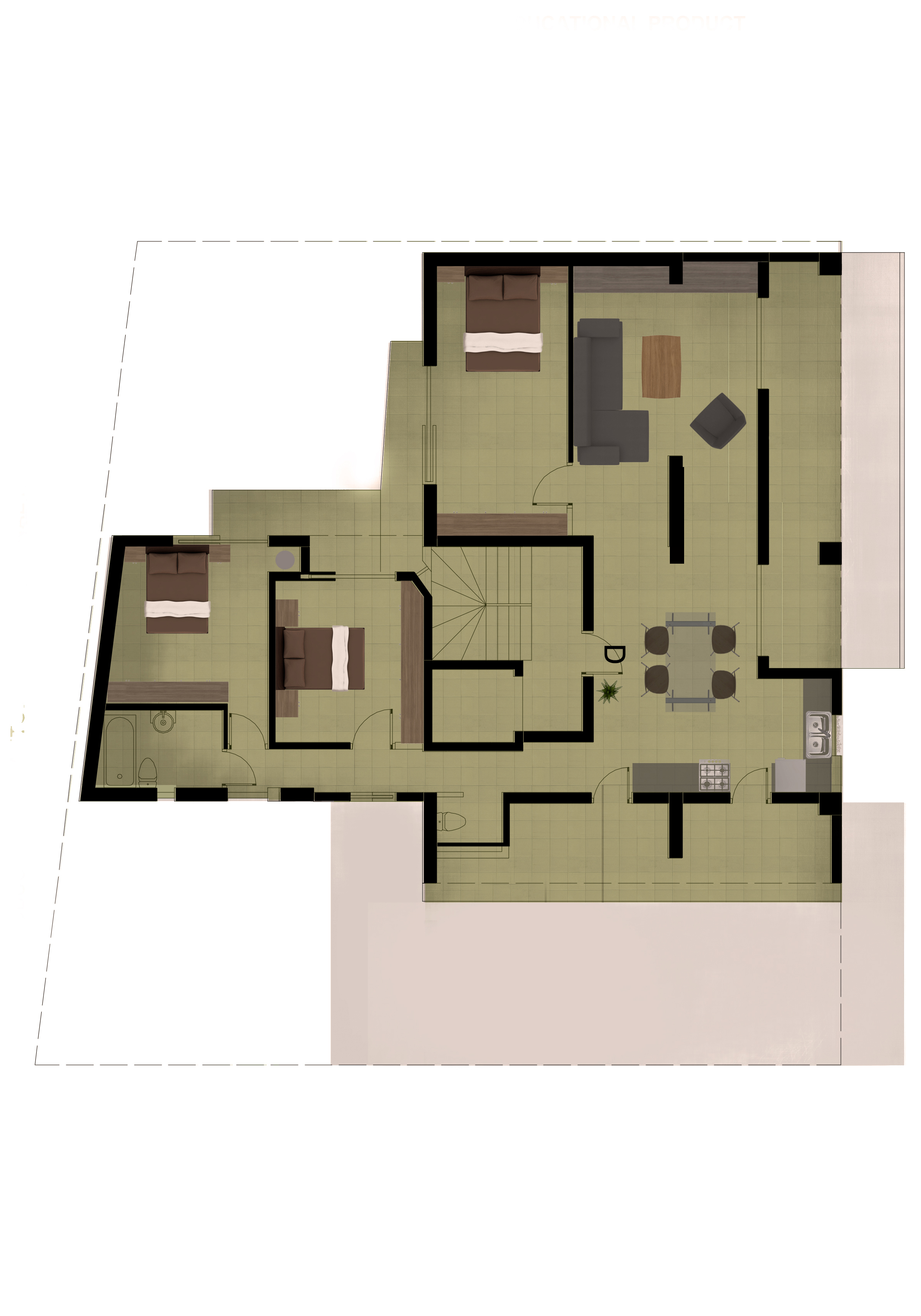Plan 4th Floor