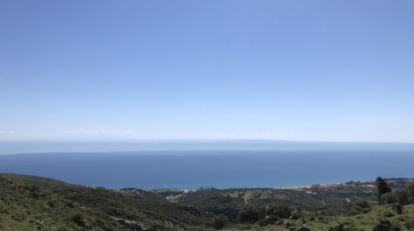 Old Skala amazing sea views plot
