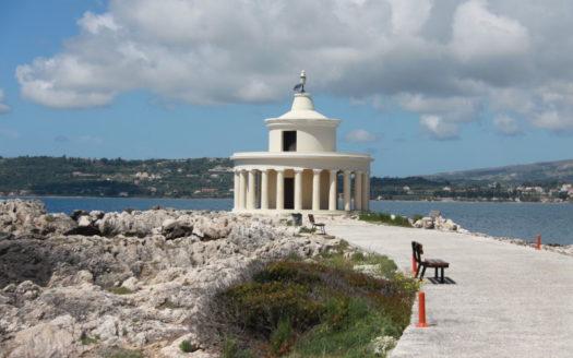Lighthouse Agion Theodoron in Argostoli Kefalonia