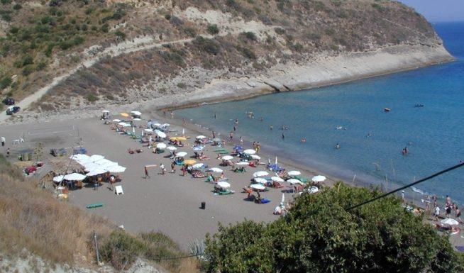 Ai helis beach in Svoronata Kefalonia