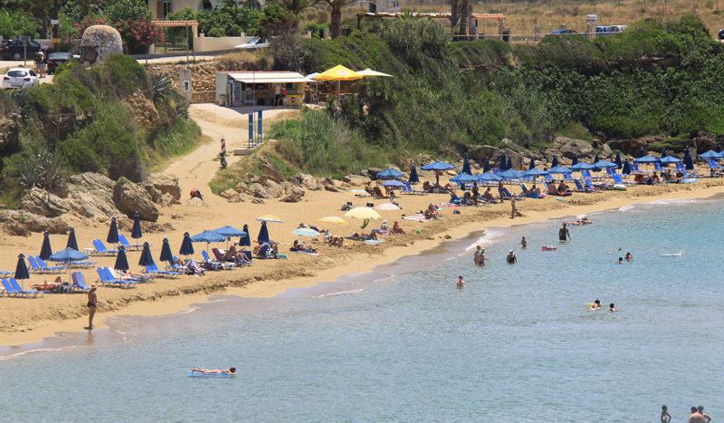 Ammes beach near the Airport