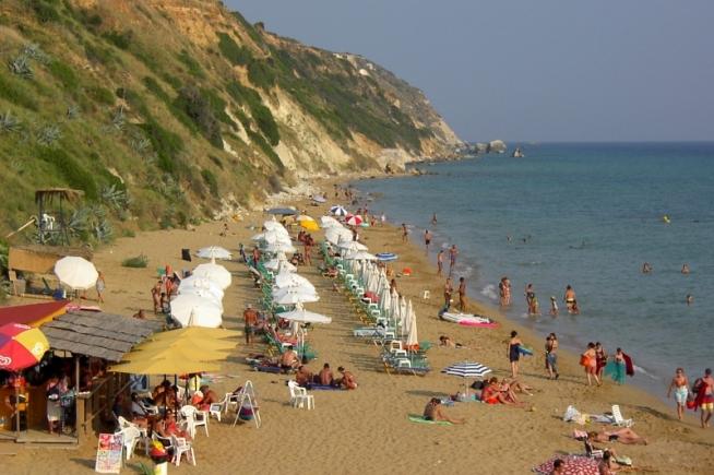 Avithos beach in Livatho Kefalonia