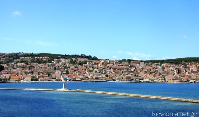 De Bosset Bridge in Argostoli Kefalonia