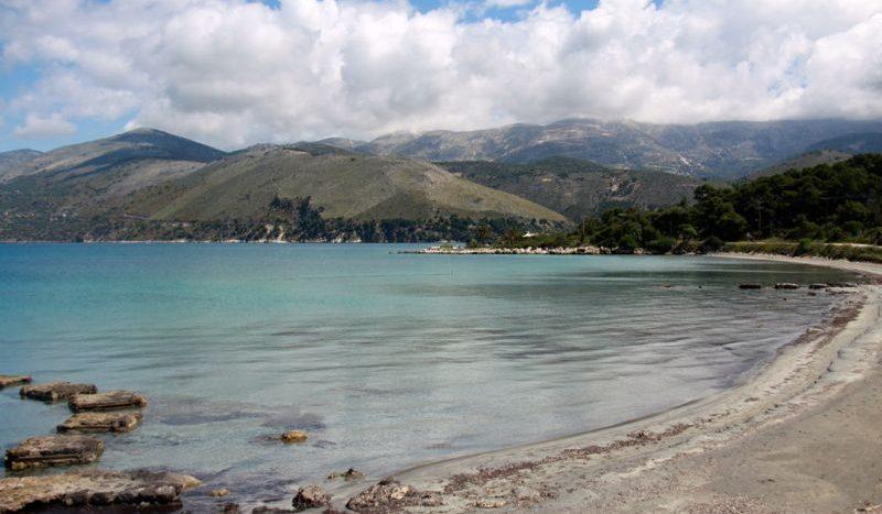 Fanari beach in Argostoli Kefalonia