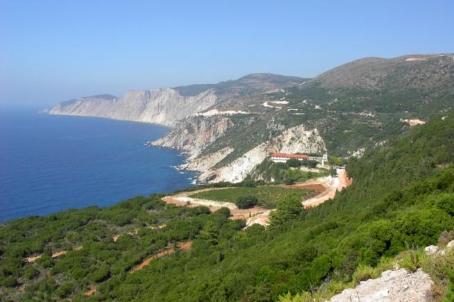 Monastery of the Virgin Mary Kipouria Kefalonia