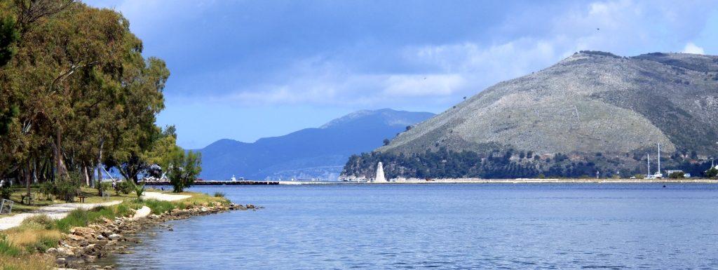 Koutavos Lagoon in Argostoli Kefalonia