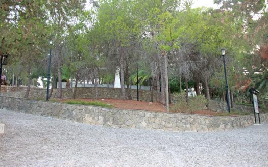 Napier Gardens in Argostoli Kefalonia