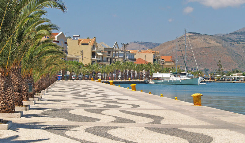 Argostoli Boardwalk in Kefalonia