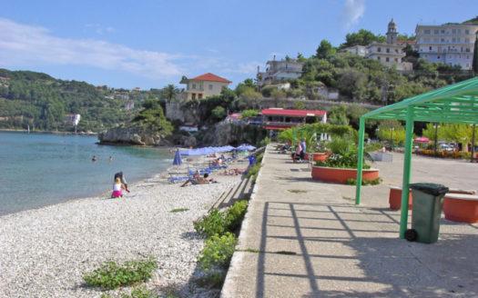 Poros beach in Poros Kefalonia
