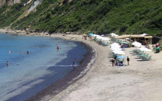 Spasmata beach in Minies Kefalonia