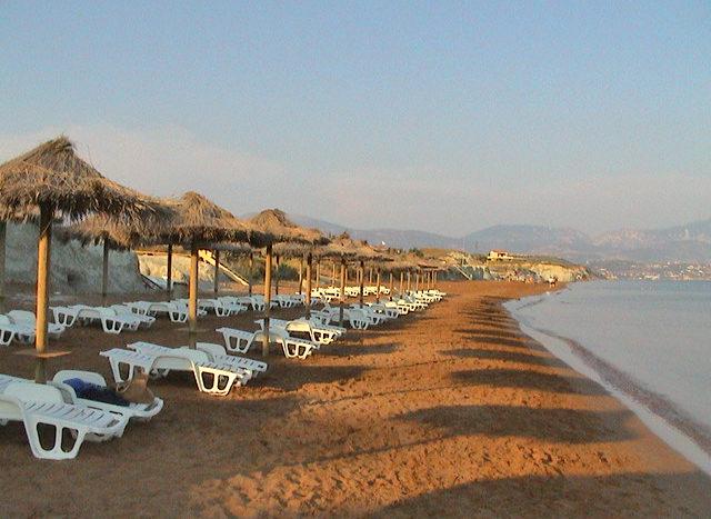 Xi beach in Lixouri Kefalonia