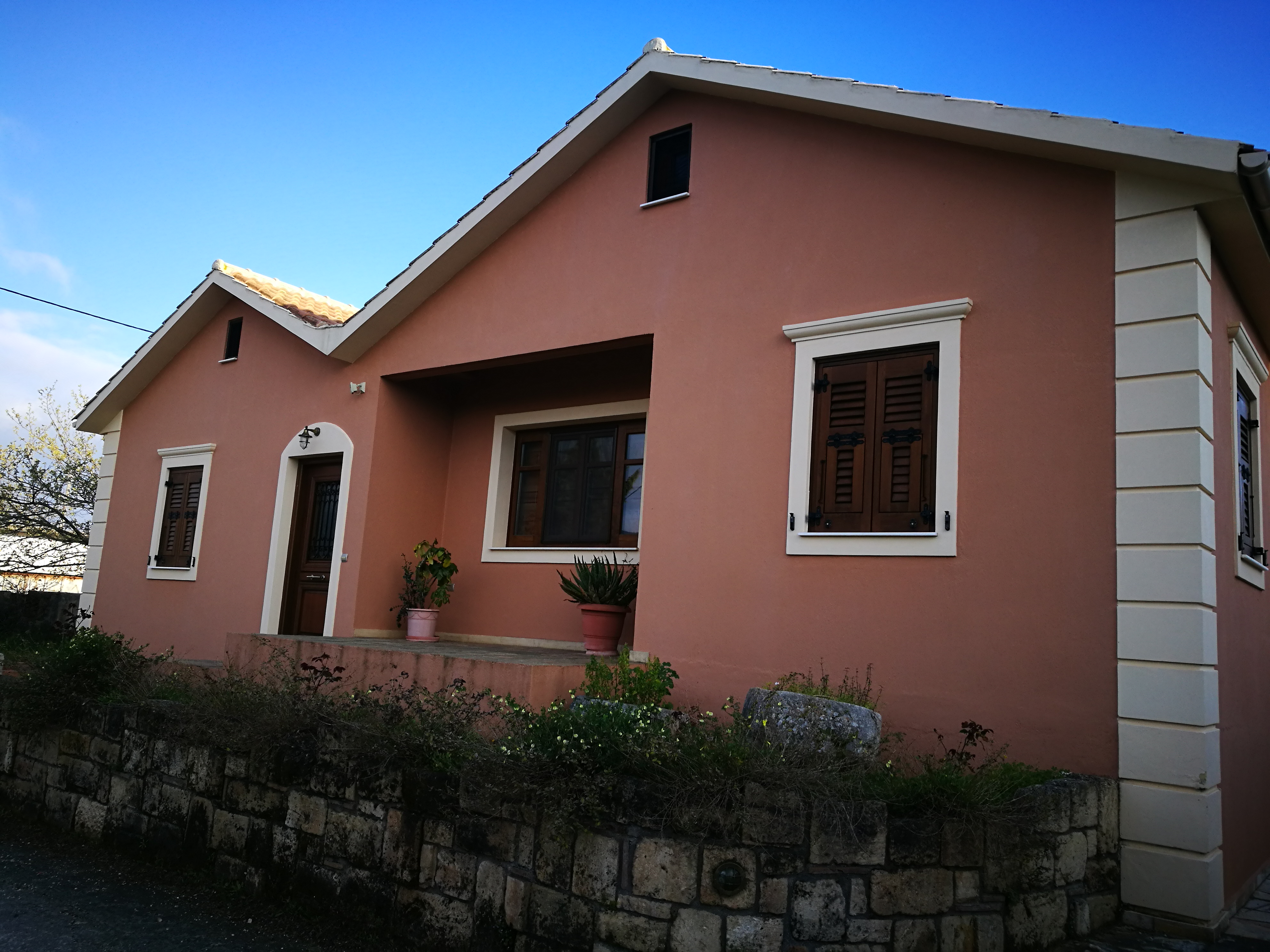 Eco house for sale in keramies village sold for Environmentally friendly homes for sale