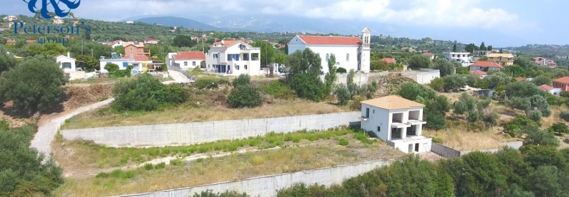 Property for sale in Sarlata Kefalonia - Unfinished House