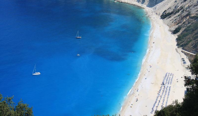 Myrtos Beach, Divarata, Kefalonia