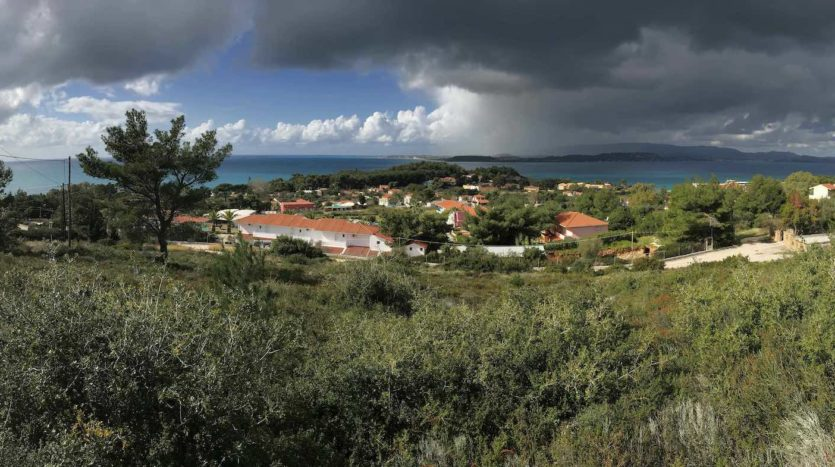 Lassi hill side plot for sale with amazing views