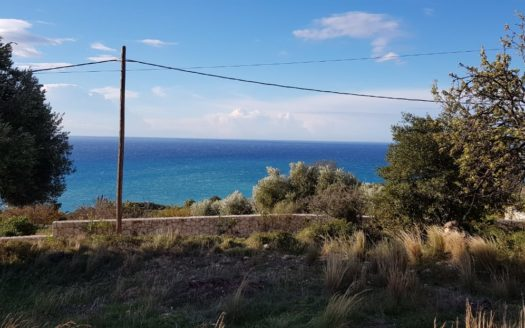 Sea view plot Koroni Beach Kefalonia