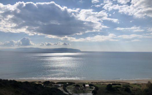 Kaminia beach sea view plot for sale