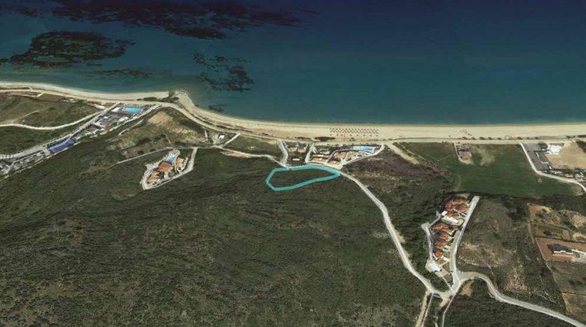 Exclusive sea view plot in Skala beach