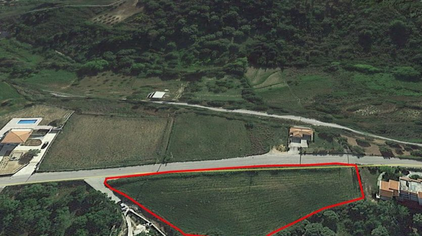 Skala plot for sale very close to Mounda beach