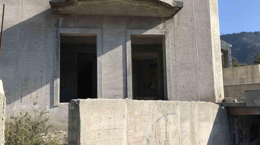 Valsamata semi finished villa for sale
