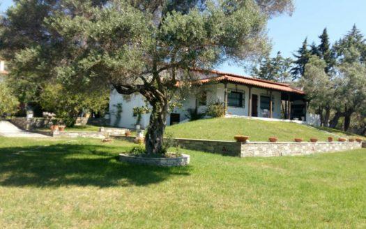 Moles Kalives sea front villa for sale