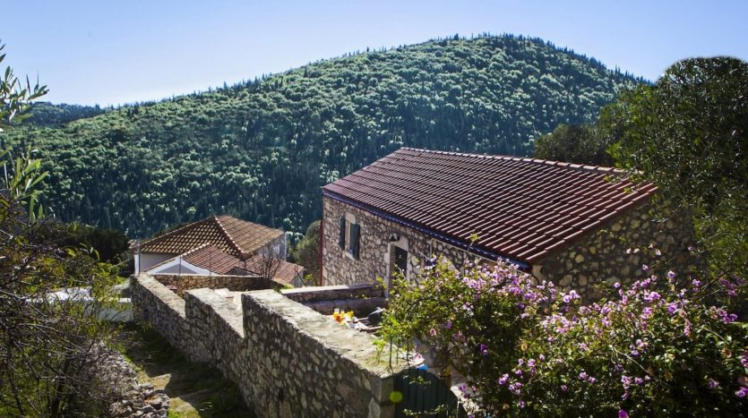 Fiscardo area traditional cottages for sale