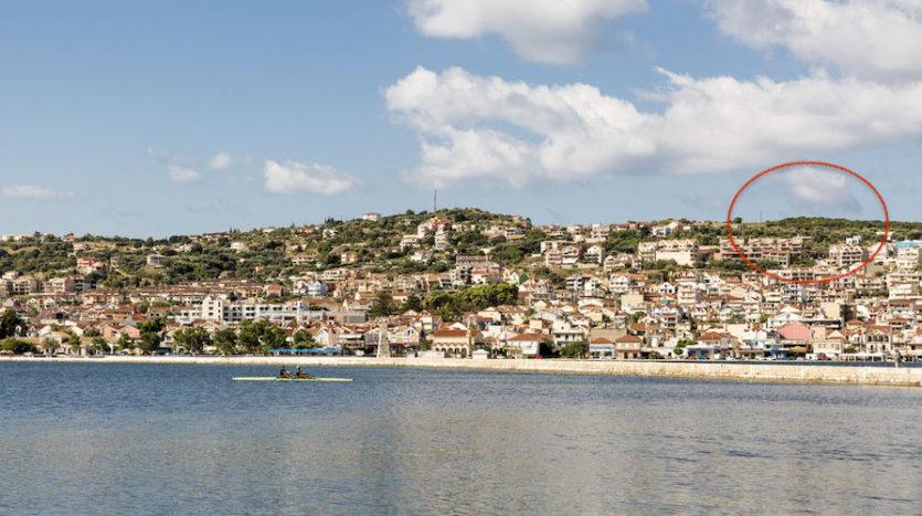 Argostoli Panoramic plot for sale