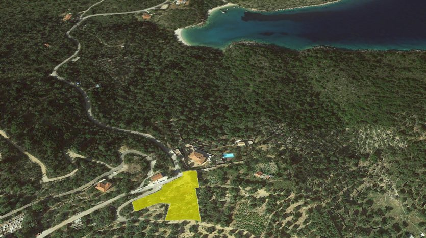 Ithaca hills plot with building permit for sale