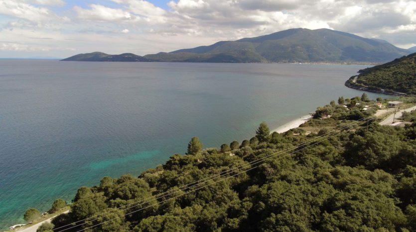 Agia Efimia sea front plot