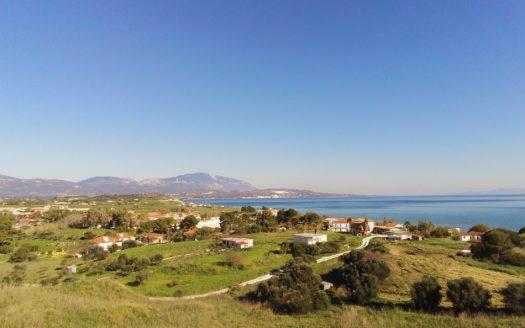 Xi beach panoramic sea view plot