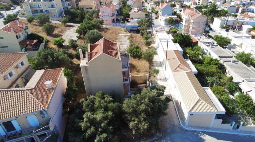 Argostoli charming plot for sale