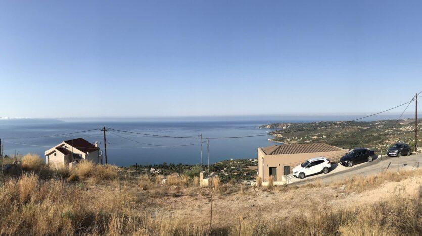 Vlahata panoramic plot for sale