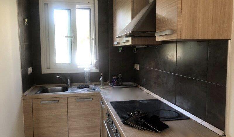 Karavomylos sea front two-level apartment