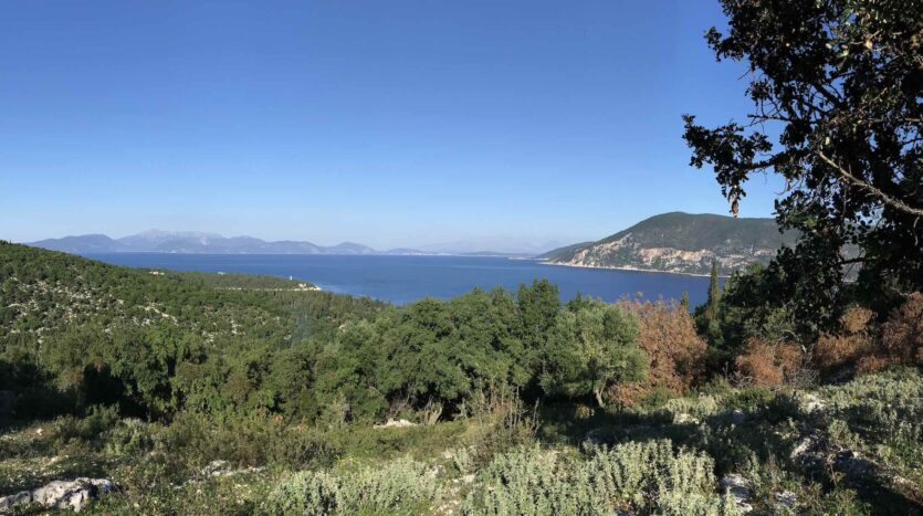 Fiscardo Area Stunning Views Building Plot for Sale