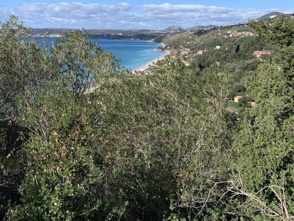 Lourdas Beach Breathtaking sea-views plot for sale
