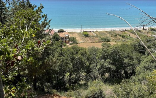 Lourdas Beach Top of the hill plot for sale